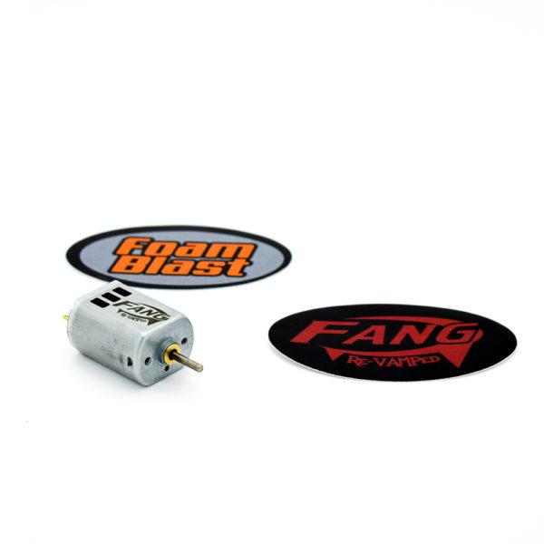 FoamBlast Fang ReVAMPed motor (130-2S)