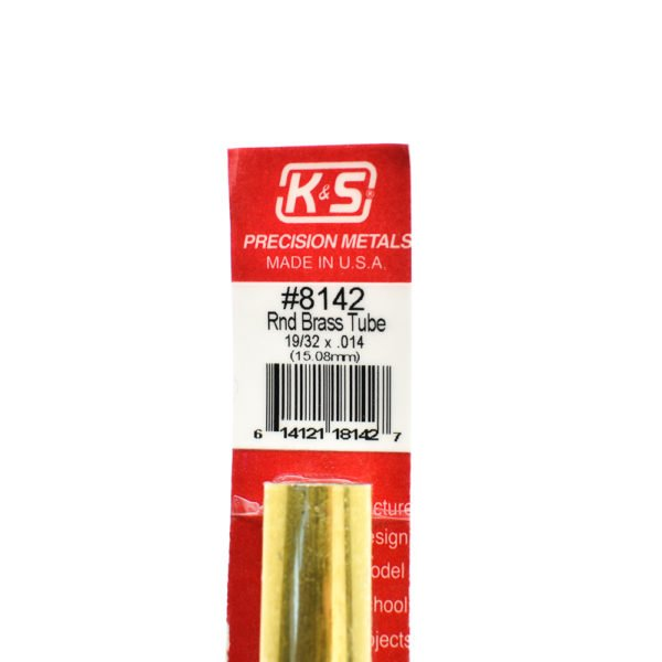 K&S Brass tube for Nerf