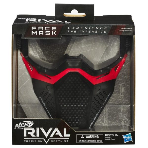NERF Rival Face Mask Red