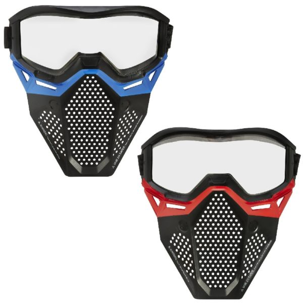 NERF Rival Face Mask Red & Blue