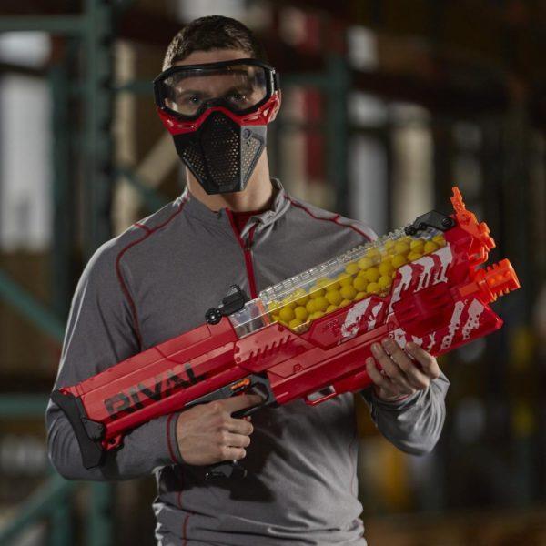 NERF Rival Nemesis MXVII-10K Red