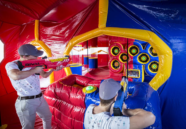 Interactive Play Systems Battle Arena
