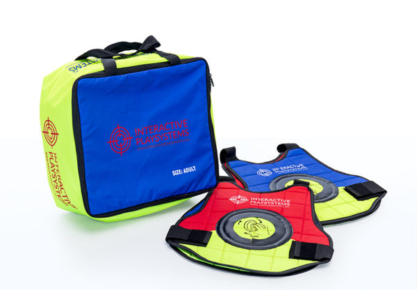 Interactive Play Systems Target vests adults