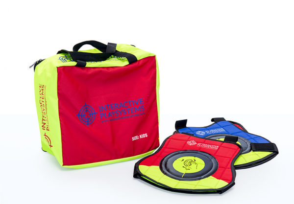 Interactive Play Systems Target vests kids