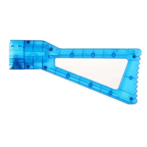 Worker AK Shoulder Stock - Transparent Blue