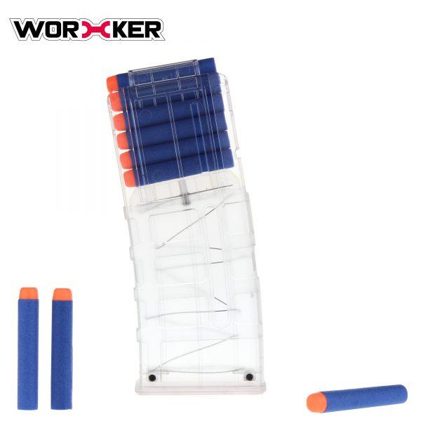 Worker PMAG magazine for 12 darts - Transparent
