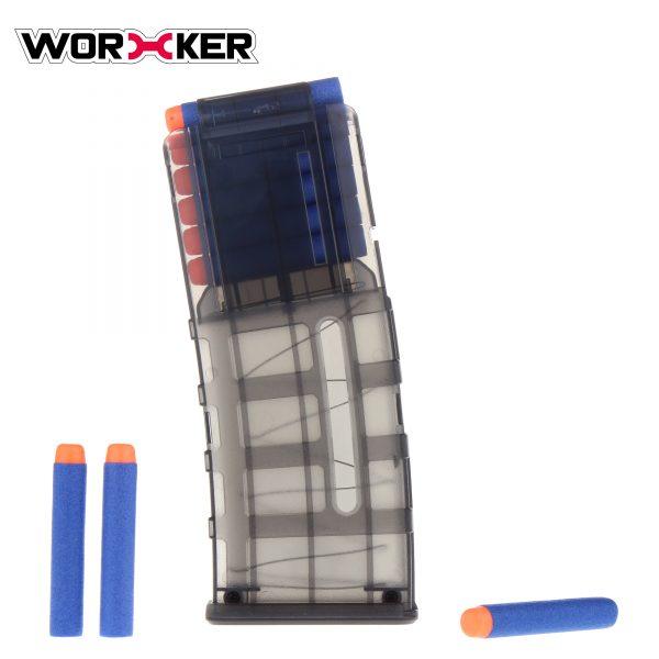 Worker PMAG magazine for 12 darts - Transparent Black