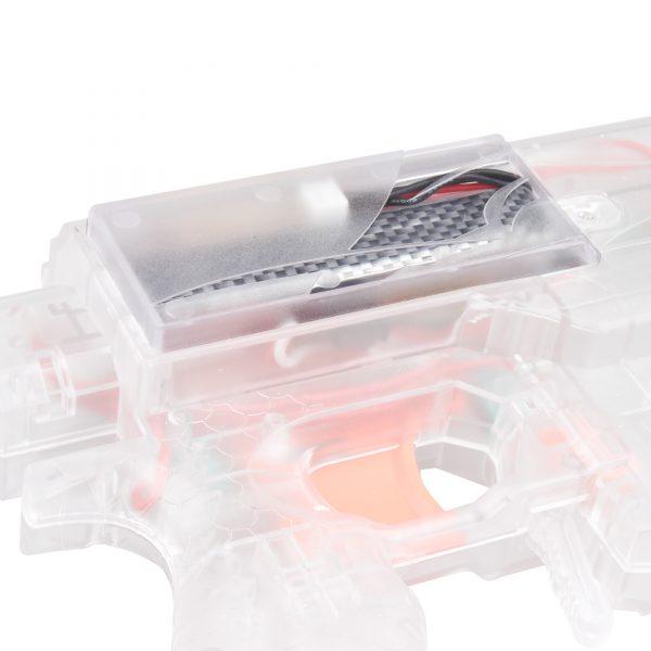 Worker Swordfish Extended Battery Door Clear
