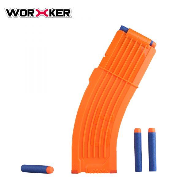 Worker magazine for 15 darts - Orange