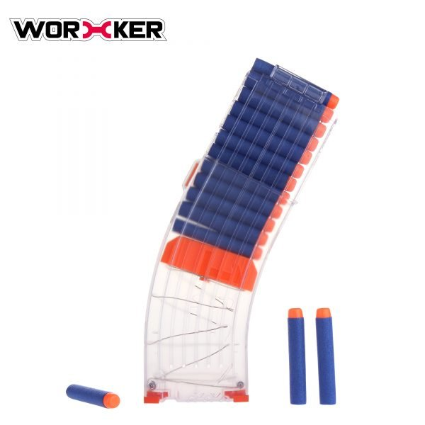 Worker magazine for 15 darts - Transparent
