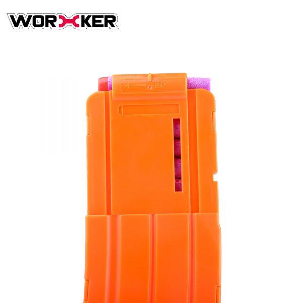 Worker magazine for 22 darts - Orange
