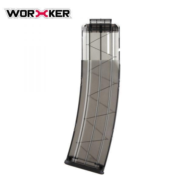 Worker magazine for 22 darts - Transparent Black