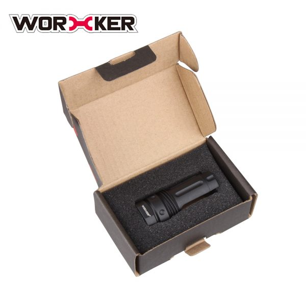 Worker 3-Prong Flash Hider Muzzle (with screw thread) - Black