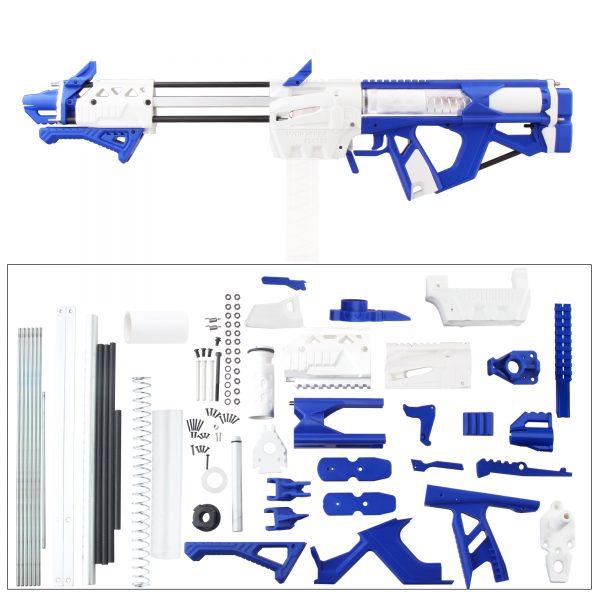 Worker Caliburn 3D Printed Nerf Blaster Kit v1.1