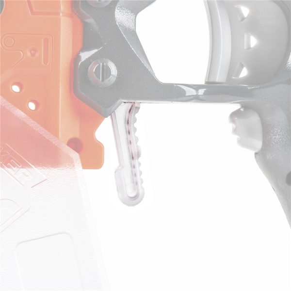 Worker Magazine Release for Nerf Stryfe Transparent Clear