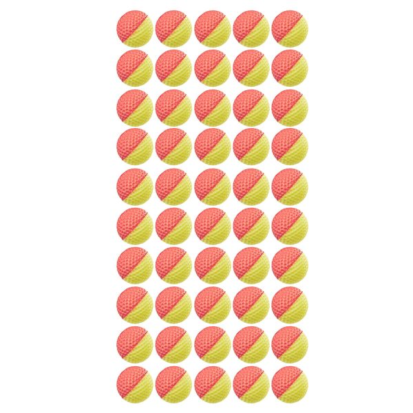 NERF Rival Refill - 50 Rounds Red-Yellow