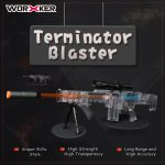 Worker Terminator Clear Longshot Shell Kit