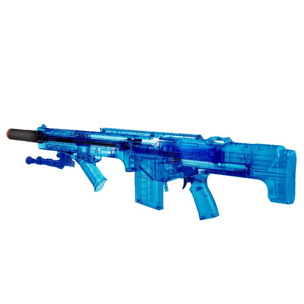 Worker Terminator Transparent Blue