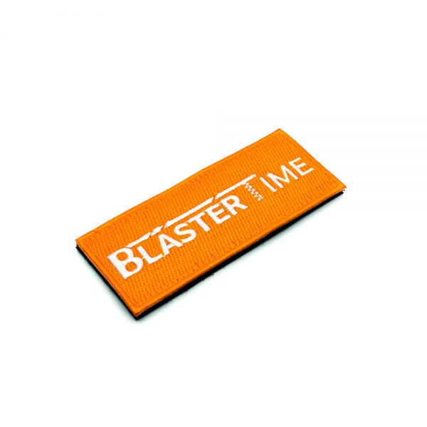 Blaster-Time Embroidered Patch