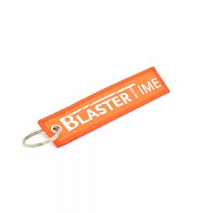 Blaster-Time Tag Keychain