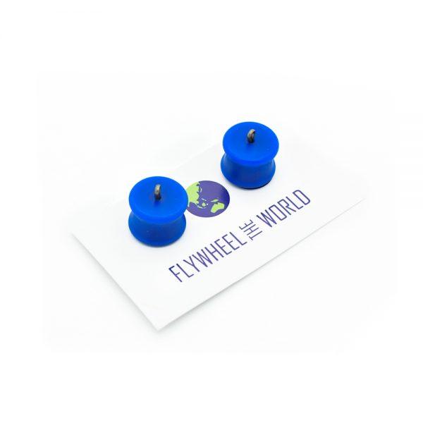 Flywheel The World FTW Micro Flywheels Blue Planet