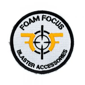 Foam Focus Embroidered Patch