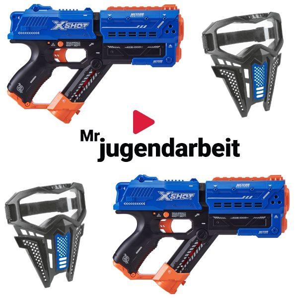 Mr. Jugendarbeit Christmas Blaster Bundle 2 Player