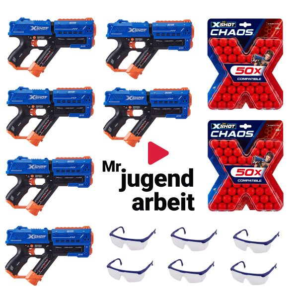Mr. Jugendarbeit Christmas Blaster Bundle 6 Player