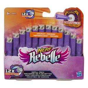 NERF Rebelle Accustrike Refill - 12 darts