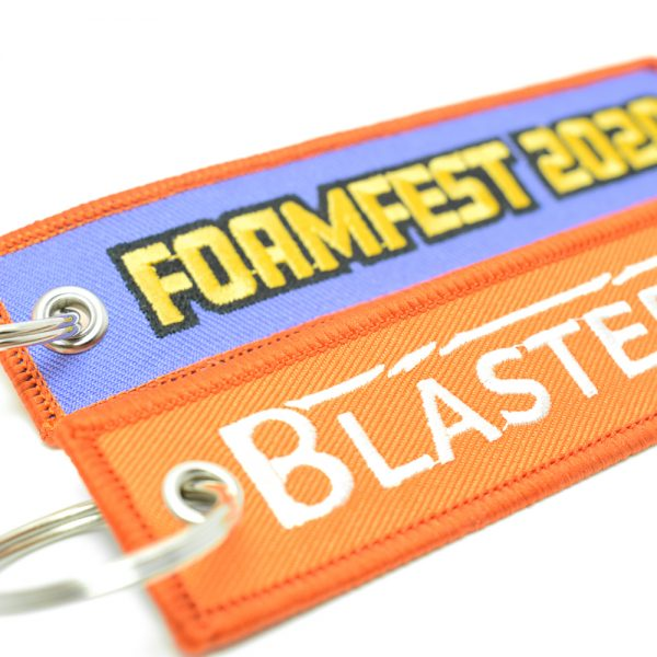Blaster-Time X Foam Fest 2020 - Tag Keychain