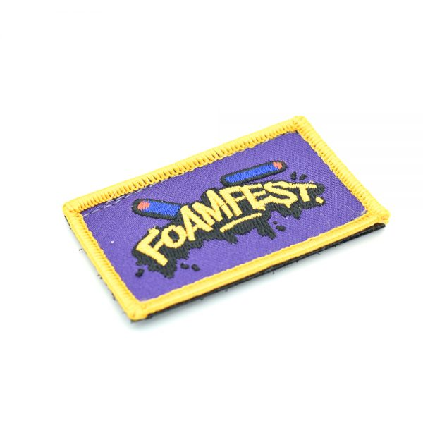 Foam Fest Embroidered Patch