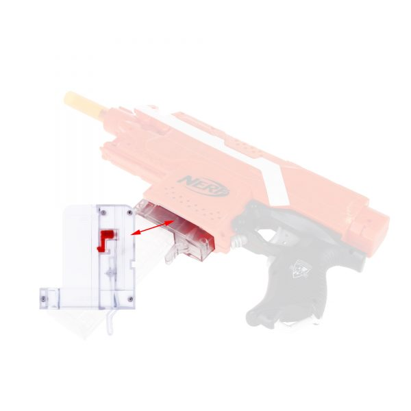 Worker Talon Magazine Adapter for Flywheel blasters - with Lever
