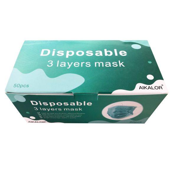 Disposable Face Mask 3 layer 50 pcs