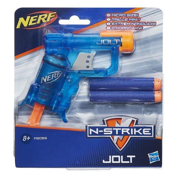 NERF N-Strike Elite Jolt - Transparent Blue