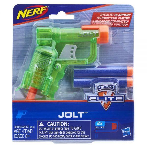 NERF N-Strike Elite Jolt - Transparent Green