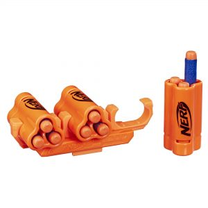 NERF Shell Upgrade Kit - 3 Shells, 9 Nerf Darts, Shell Holder