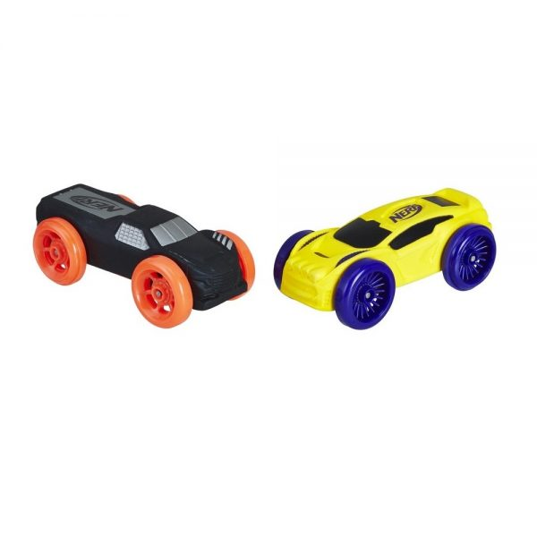 NERF Nitro Foam Cars 2-Pack