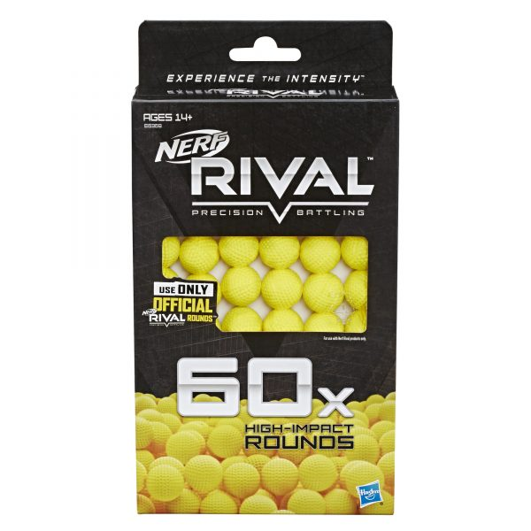 NERF Rival Refill Yellow - 60 Rounds