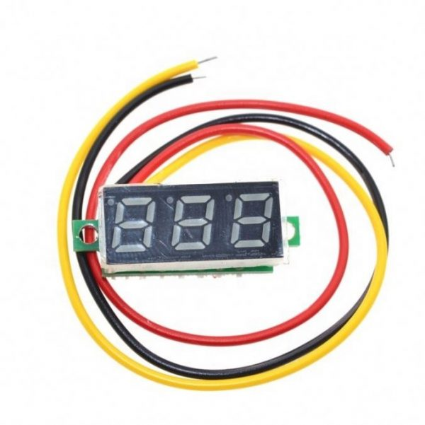 Voltmeter Small Size 3-wire (0.28)