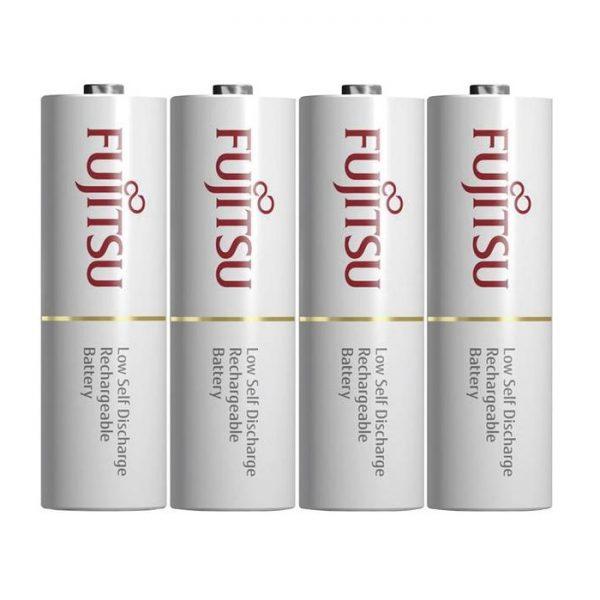 Fujitsu Rechargeable NiMH AA Battery - 4 pcs