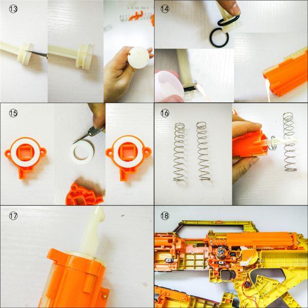 Worker 9kg Spring Upgrade Kit for Nerf Stampede Installation