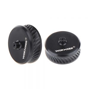 Worker Black High Power Accurate POM Flywheels (pair)