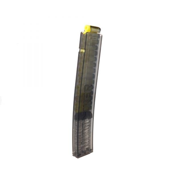 Worker Talon Short Dart Banana Magazine 18 - Transparent Black Smoke