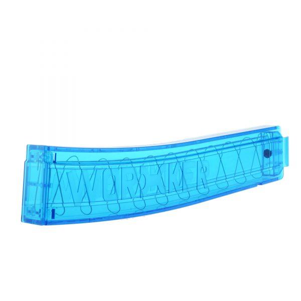Worker Talon Short Dart Banana Magazine 18 - Transparent Blue