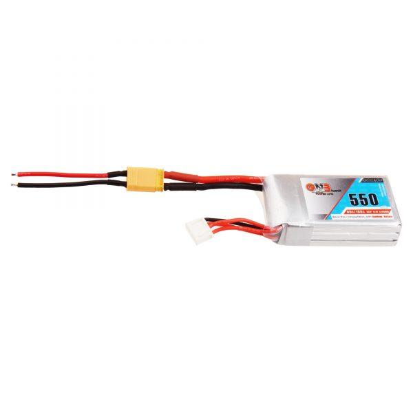 GNB 3S 550mAh LiPo battery (XT30) for Worker Hurricane
