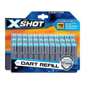 X-Shot Excel Dart Refill Pack - 36 darts