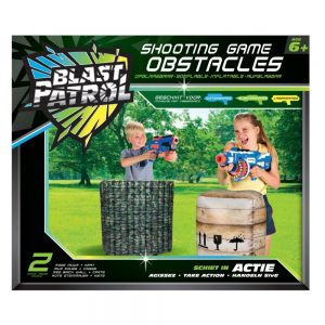 Blast Patrol Inflatable Cover - Green Barrier + Crate