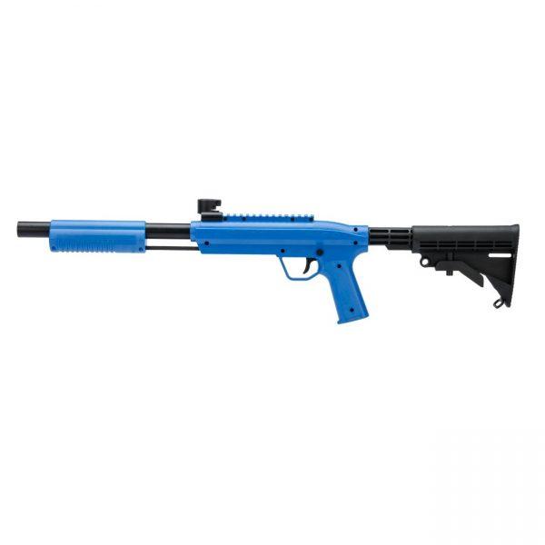 Valken Gotcha Tactical .50 caliber paintball marker blue