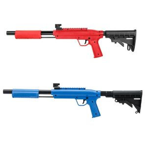 Valken Gotcha Tactical .50 caliber paintball marker red