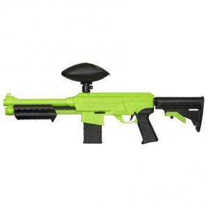 JT SplatMaster z18 .50Cal Paintball Marker - Hopper Fed - Green